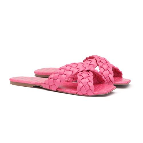 Flat Trançado Rosa Pink Infantil Gats - 8006 - GATS