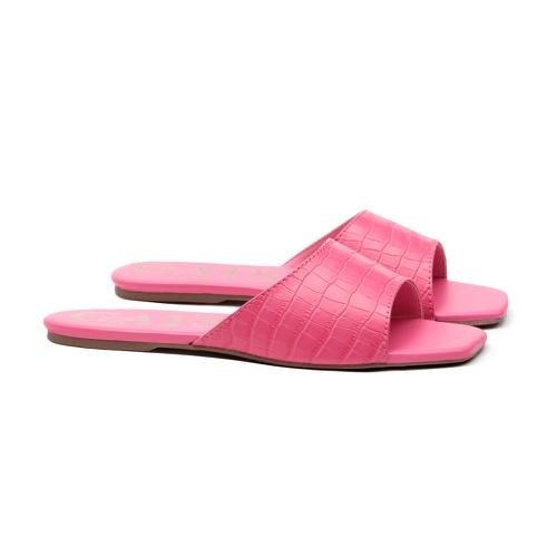 Slide Animal Print Pink Neon Infantil Gats - GATS