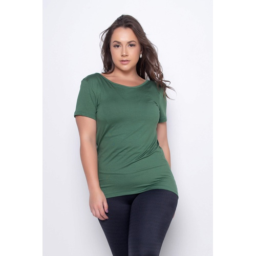 Blusa Respira Lisa Verde - 41091 - Korefit