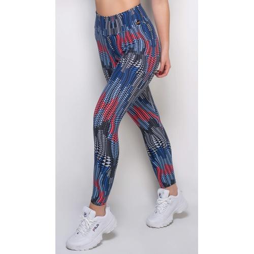 Calça Legging Fitness Viva Light Losango - 35084 - Korefit