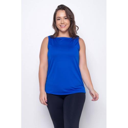 Camiseta Slim Dry Azul - 41374 - Korefit