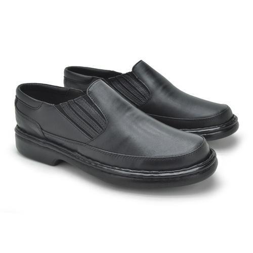 Sapato Laroche Lisboa em Couro de Carneiro - Preto