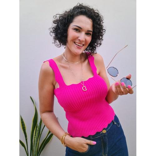 Blusa Tricot Nuvem - Pink - BL5684 - LOJA TUTTI FRUTTI
