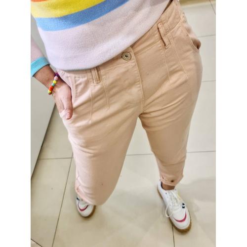 Calça Jeans Zoe Mom - Rose - C018 - LOJA TUTTI FRUTTI