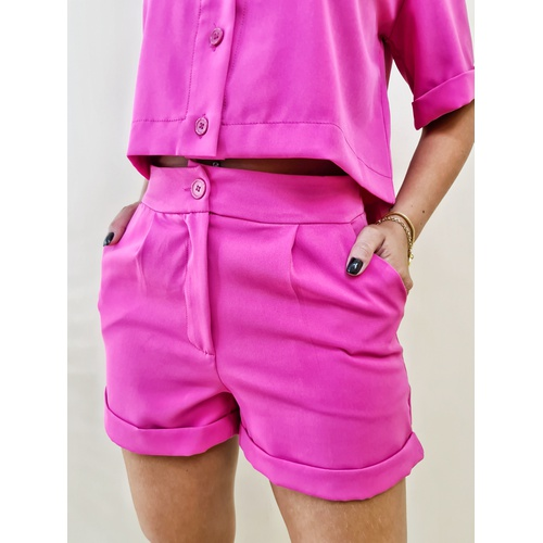 Short Amber - Pink - SH503 - LOJA TUTTI FRUTTI