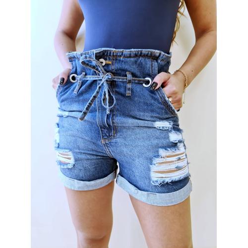Short Jeans Clochard - SH5531 - LOJA TUTTI FRUTTI