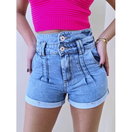 Short Jeans Cris - SH203 - LOJA TUTTI FRUTTI