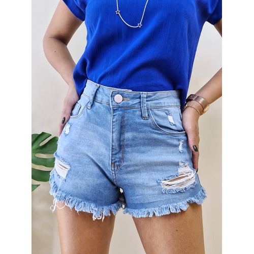Short Jeans Manu - SH183 - LOJA TUTTI FRUTTI