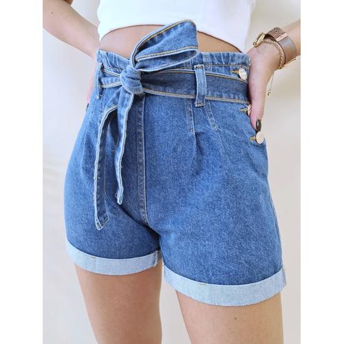 Short Jeans Mary - SH304 - LOJA TUTTI FRUTTI