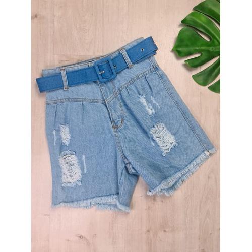 Short Jeans Compridinho - SH3312 - LOJA TUTTI FRUTTI