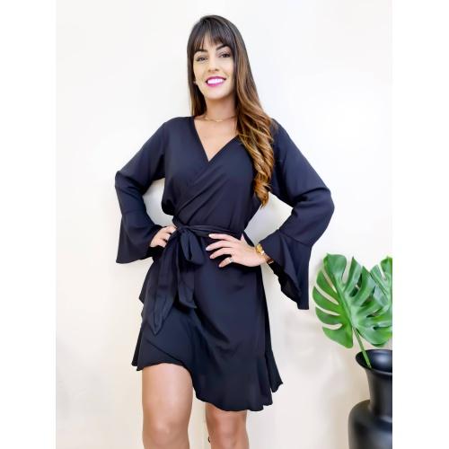 Vestido Envelope Catarina - V7896 - LOJA TUTTI FRUTTI