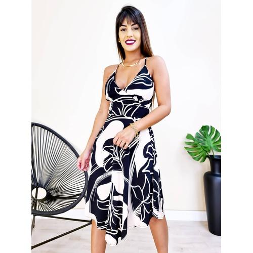Vestido Eduarda - Estampa 3 - V9663 - LOJA TUTTI FRUTTI