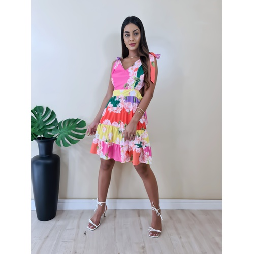 Vestido Elisa - V188 - LOJA TUTTI FRUTTI