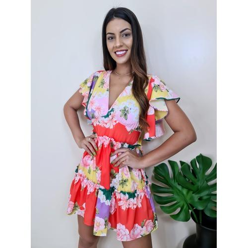 Vestido Flora - V3217 - LOJA TUTTI FRUTTI