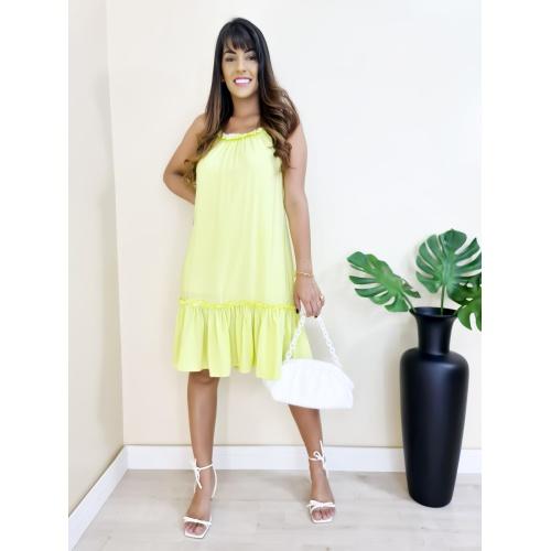 Vestido Heloisa - Lima - V704 - LOJA TUTTI FRUTTI