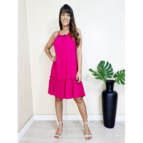 Vestido Heloisa - Pink - V704 - LOJA TUTTI FRUTTI