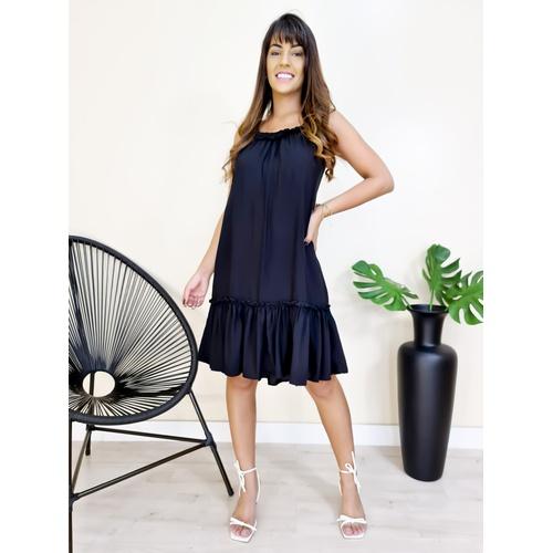 Vestido Heloisa - Preto - V704 - LOJA TUTTI FRUTTI