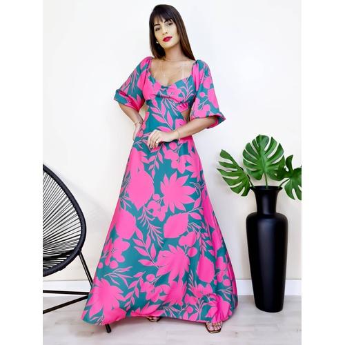Vestido Colombia - V9322 - LOJA TUTTI FRUTTI
