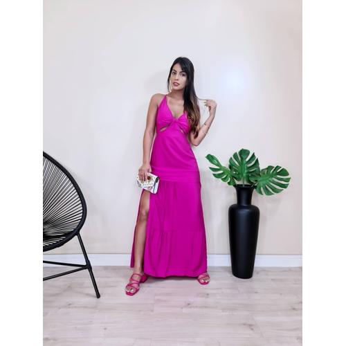 Vestido Londres - Pink - V0031 - LOJA TUTTI FRUTTI