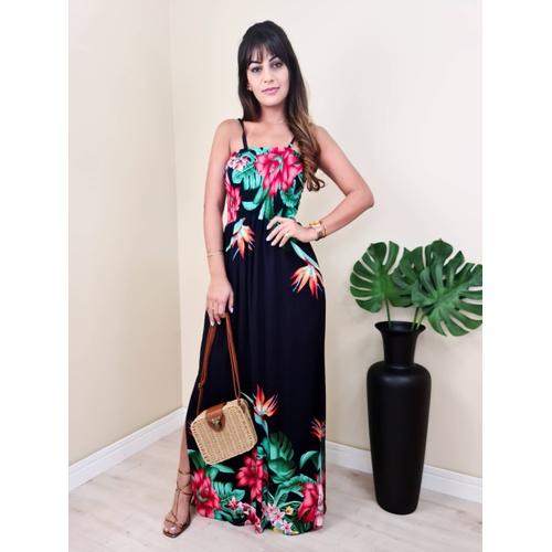 Vestido Copacabana - V1441 - LOJA TUTTI FRUTTI
