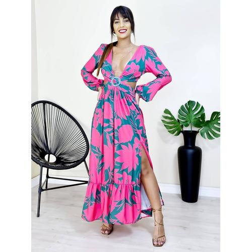 Vestido Porto Rico - V7789 - LOJA TUTTI FRUTTI