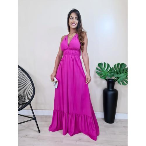 Vestido Viena- Pink - V3060 - LOJA TUTTI FRUTTI