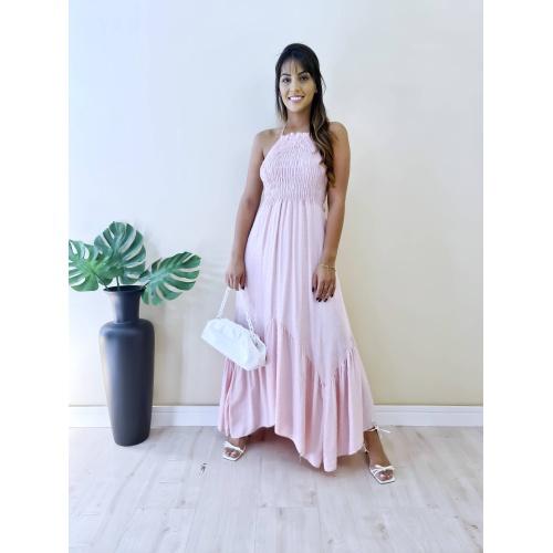 Vestido Marina - Rosa Bebê - V6542 - LOJA TUTTI FRUTTI