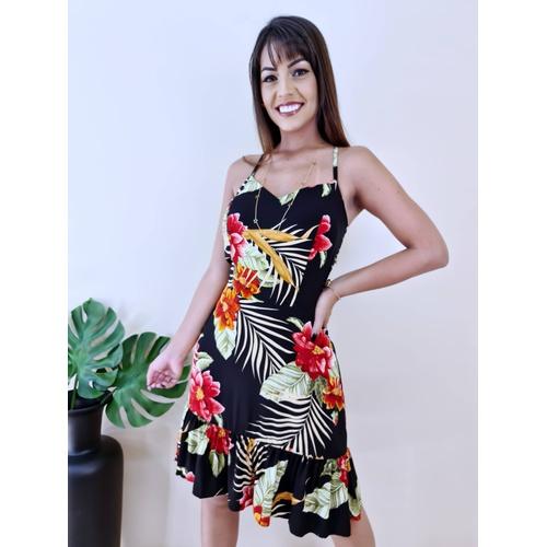 Vestido Maya - Estampa 2 - V985 - LOJA TUTTI FRUTTI