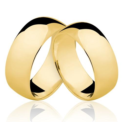 Alianças de Ouro 18k/750 AL50