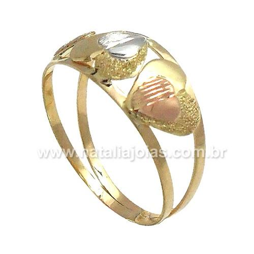Anel de Ouro 18k/750 AN79