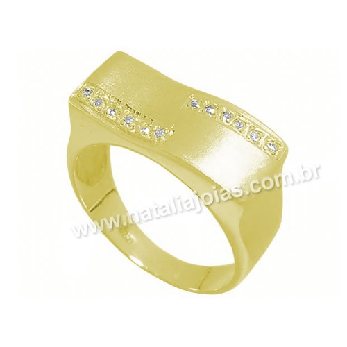 Anel de Ouro 18k/750 AN30