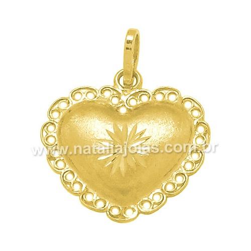 Pingente de Ouro 18k/750 PG96