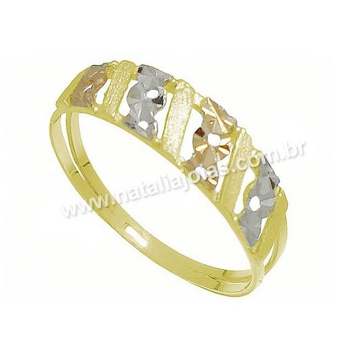 Anel de Ouro 18k/750 AN17