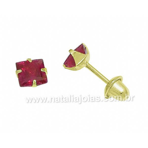 Brinco de Ouro Infantil 18k/750 BRI45