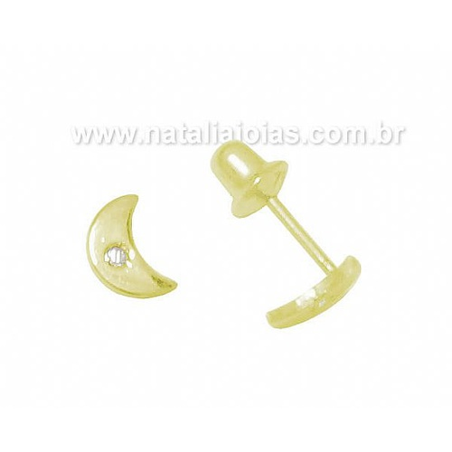 Brinco de Ouro Infantil 18k/750 BRI55