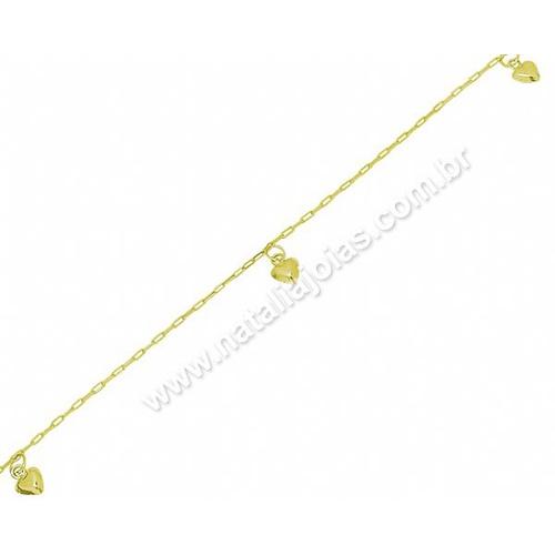 Tornozeleira de Ouro 18k/750 TO05
