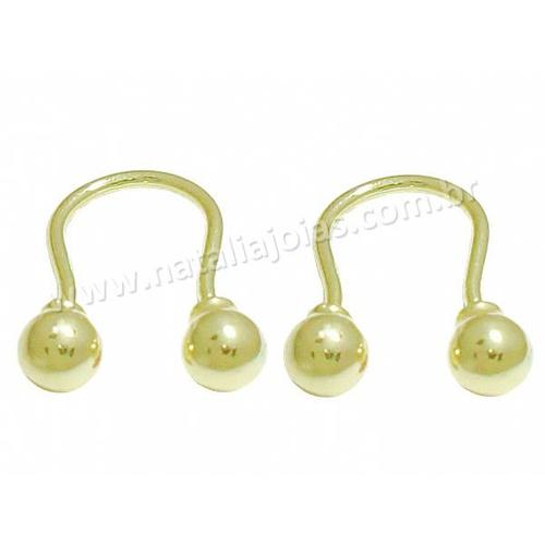 Brinco de Ouro 18k/750 BR07