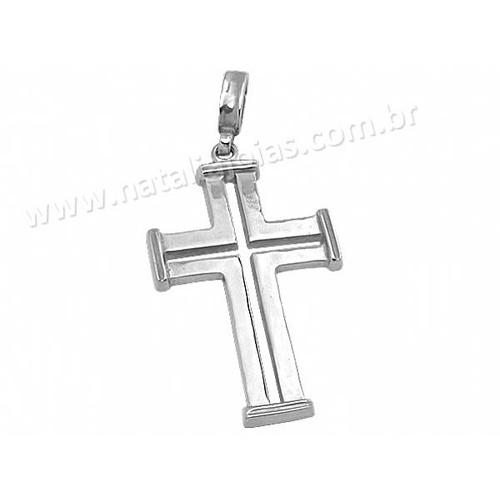 Pingente de Prata 925 Crucifixo PG20
