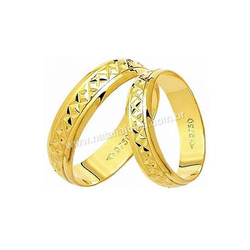 Alianças de Ouro 18k/750 AE130