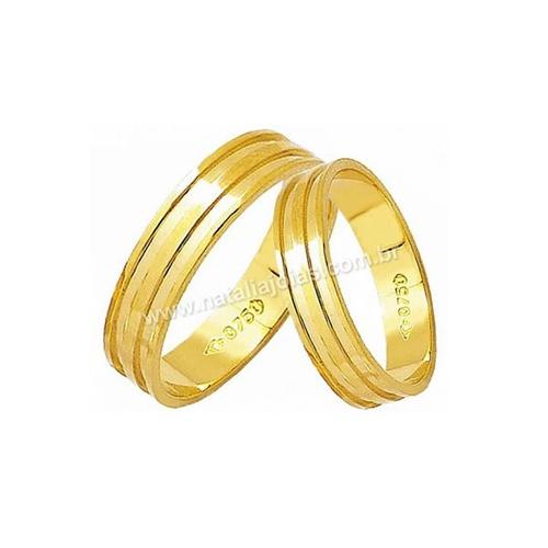 Alianças de Ouro 18k/750 AE70