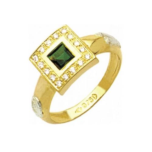 Anel de Formatura em Ouro 18k/750 com Diamante ANF28