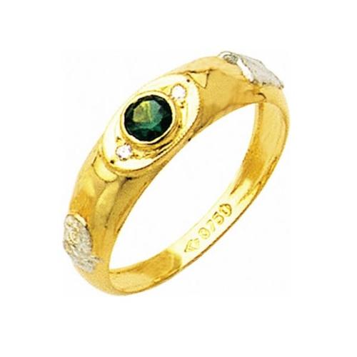 Anel de Formatura em Ouro 18k/750 com Diamante ANF21