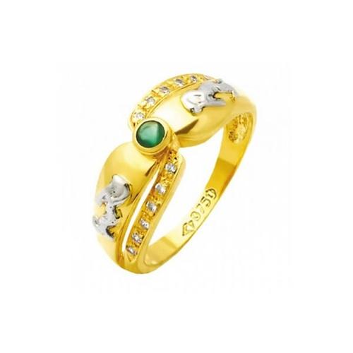 Anel de Formatura em Ouro 18k/750 com Diamante ANF75