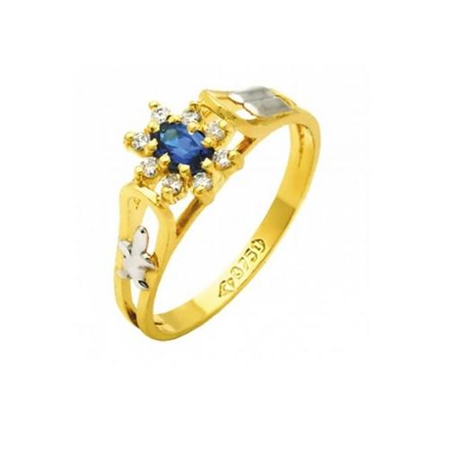 Anel de Formatura em Ouro 18k/750 com Diamante ANF76