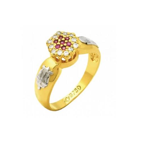 Anel de Formatura em Ouro 18k/750 com Diamante ANF63
