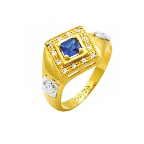 Anel de Formatura em Ouro 18k/750 com Diamante ANF64