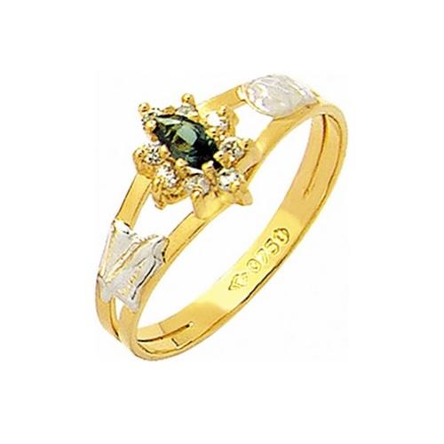 Anel de Formatura em Ouro 18k/750 com Diamante ANF56