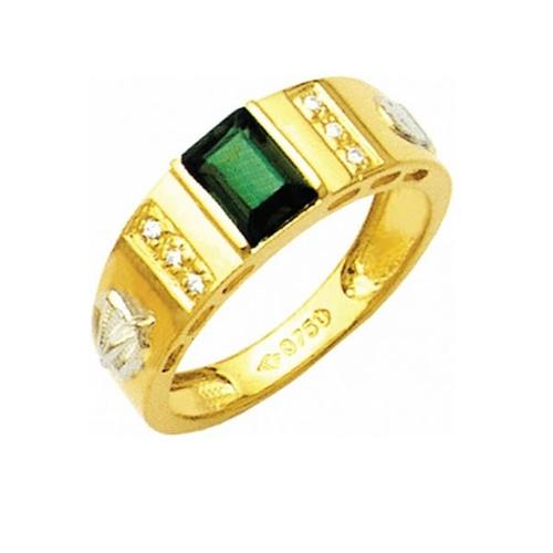 Anel de Formatura em Ouro 18k/750 com Diamante ANF16