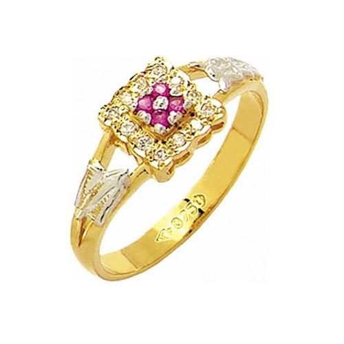 Anel de Formatura em Ouro 18k/750 com Diamante ANF47