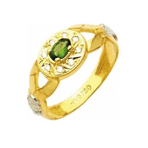 Anel de Formatura em Ouro 18k/750 com Diamante ANF10